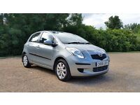 TOYOTA YARIS 1.3 TR 58 PLATE 2008 1P/OWNER 81000 MILES FULL TOYOTA SERVICE HISTORY AC ALLOYS 5DR