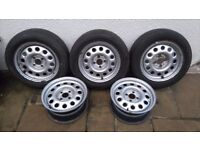Vw golf mk2 steel wheels. Gti, driver, G60, mk1, mk3,