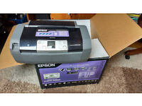 Epson Stylus Photo R245 Printer - unused in original box with ink £10