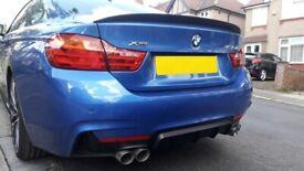 BMW 4 Series M Performance Rear Carbon Fiber Spoiler - 100% OEM fit