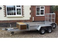 Trailer 8ft x 4ft twin axel plant trailer Indespension