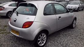 Ford KA 1297CC PETROL, HATCHBACK,MANUAL, SILVER, 2007(57)FULL MOT ,***LOW MILEAGE***