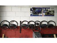 Assorted Land Rover Defender Steering Wheels