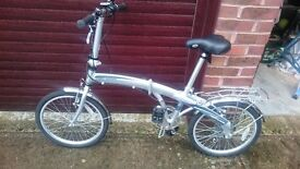 Land Rover Folding Bicycle - hardly used! FOR SALE