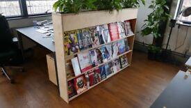 Opendesk Magazine rack planter