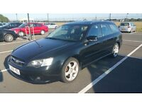 2006 06 Subaru Legacy RE estate (162bhp) Leather, Parrot Bluetooth, Tow Bar