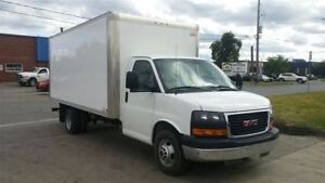 2015 GMC Savana 3500 G3500 16Ft V8 Gas + Ramp