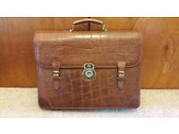 Mulberry briefcase vintage 9 + years plus