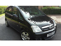 2009 VAUXHALL MERIVA 1.4 PETROL,VERY LOW MILEAGE,EXCELLENT COND.