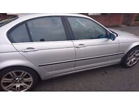 BMW E46 320I FOR SALE,OR SWAP FOR DIESEL,OR SMALLER CAR.