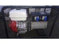 Used Honda Generator 6kw, Honda GX390