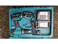 used Makita 18 v cordless drill