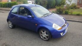 Ford Ka 1.6 Sport 54 plate Mot till February 18 reliable car Dab radio leather interior
