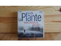 WRONGFUL DEATH - AUDIOBOOK - BY LYNDA LA PLANTE