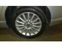 4x tyres 225/50/17 Good Year Efficient Grip (2016) and Jinyu GU61 (2017) 6mm