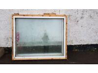 Large double glazed windows