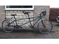 "Dawes Galaxy Twin tandem 21"" 17"" Excellent condtion."