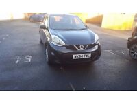 Nissan Micra, 2014, like brand new with only 7000 miles, service history