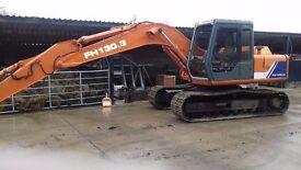 Hitachi excavator 130