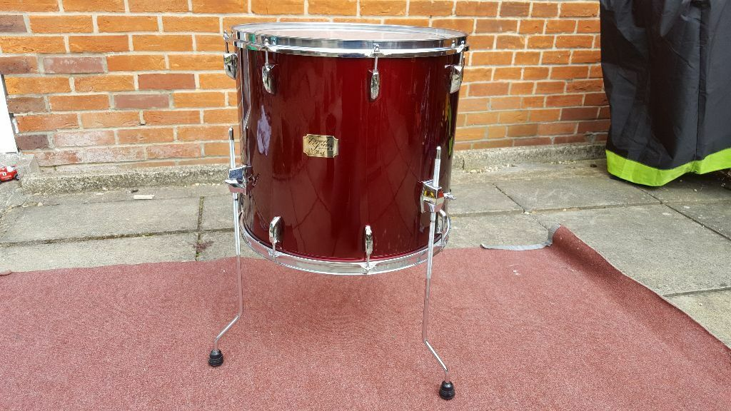 pearl export series 18 floor tom drum in winchester hampshire gumtree. Black Bedroom Furniture Sets. Home Design Ideas