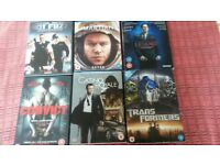 selection of blu ray dvd
