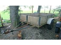 8.5 x 5 foot trailer, high sides