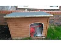 Dog kennel wood. !!Free!!