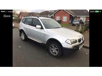 2006 55reg BMW X3 2.5i Silver Manual 4x4