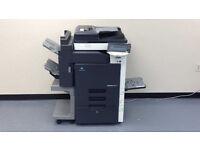 Konica Minolta Bizhub C353 Color Laser Copier/Printer/Scanner/Mint/Fully Serviced/Toners Full !