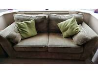NEXT 2 seater sofa in brown