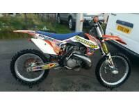 2013 ktm 250 sx swap/px superbike