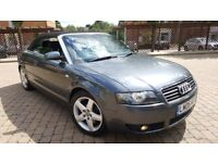 AUDI A4 1.8TURBO SPORT CONVERTIBLE MANUAL 30K MILES LOOKS AND DRIVES LIKE NEW PX WELCOME