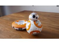 Bb8 sphero app enabled present Star Wars w/ charger