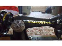 Rare vintage Viscount sewing machine