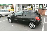 2006 renault clio dynamque s 1.4cc new shape model 3-door black excellent cond full mot £795