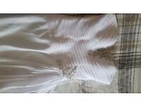 Size 10 to 12 wedding dress