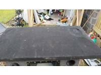 Parcel shelf for MK4 VW Polo with four 6x9's
