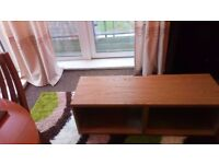 TV stand very good condition, dark oak, sturdy, can deliver