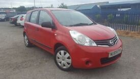 2009 NISSAN NOTE 1.4 VISIA 5 DOOR FULL MOT