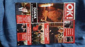 OK magazine issue 77, 1997 princess Diana