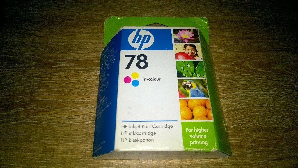 hp tri-colour ink cartridge 78