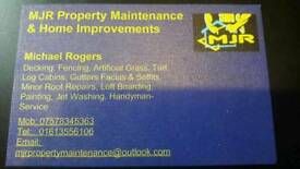 MJR PROPERTY MAINTENANCE AND HOME IMPROVEMENTS