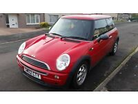 red mini one, excellent condition, cheap tax and insurance