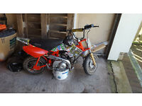 Children's mini moto for spares or repair