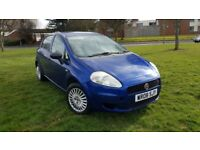 FIAT GRAND PUNTO 1.2 ACTIVE WARRANTED LOW MILEAGE CHEAP TO DRIVE AND INSURE DRIVES EXCELLENT.