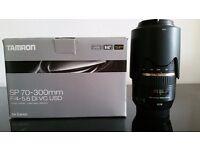 TAMRON SP 70-300 f4-5.6 Di VC USD - canon fit