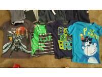 5-6 boys clothes 2x size 10 shoes