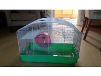 Large two-tier Hamster Gerbil Cage with Accessories