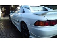 TOYOTA MR2 T-BAR IN STUNNING CONDITION, JUST HAD FULL RESTO ON THE BODY AND NEW PAINT JOB.