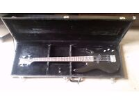 Bass guitar and hard cover for sale, both in excellent condition